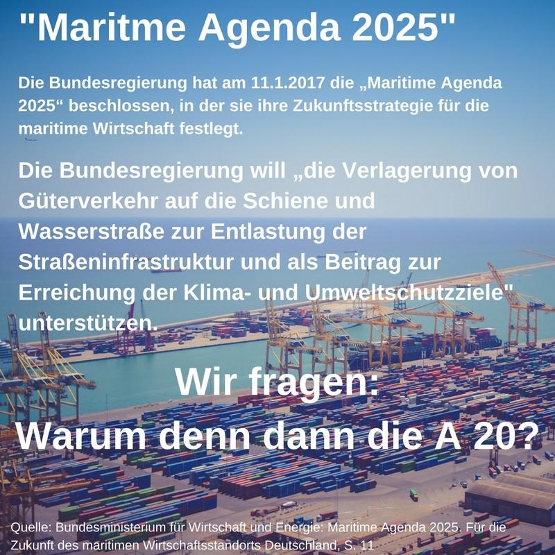 Maritme Agenda 2025. A 20 nie Facebook